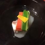 おか星 - 料理写真:鯛の清し汁