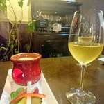 トラットリア ピアノ・ピアーノ - 白ワイン