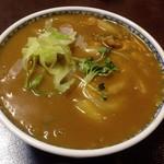 そば処 田毎 - 料理写真:オリジナル カレーうどん ¥1,200