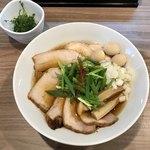実垂穂 - 無添加魚介出汁の中華そば 醤油 全部のせ