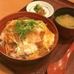 旬食菜彩 葦の花 - 料理写真:もち豚ロースカツ丼