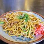 餃子菜館 大八 - 太麺やきそば650円
