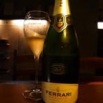 Gatti - Ferrariはグラスで常時ご提供