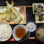 大黒屋 - 天ぷら定食 1,000円