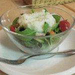リストランテ Ciao - セットについてくるサラダ