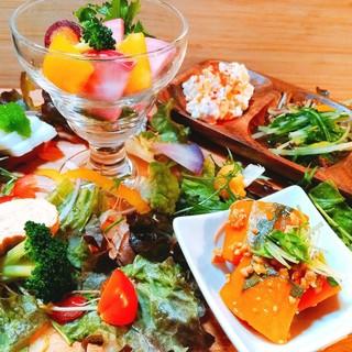 オススメのひと皿!奈良県明日香村の野菜たっぷりなプレート☆