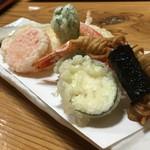 蕎麦正 まつい - 蕎麦屋ならではの天ぷら♪