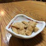 蕎麦正 まつい - おつまみのそばチップス