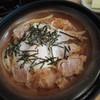 勝蔵 - 料理写真:柳川風ヒレかつ丼・初期状態