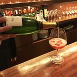 79563312 - 博多産あまおうとシャンパンのカクテル