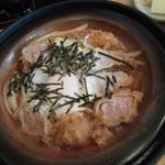 勝蔵 - 柳川風ヒレかつ丼・初期状態