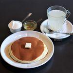 雨林舎 - 無農薬のライムと生姜の酵素シロップ、ホットケーキ