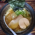長田屋 - 煮干し中華そば(あっさり)700円