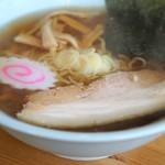 政吉食堂 - 佐野ラーメン670円