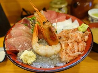魚河岸 丸天 魚河岸店 - 丸天丼ご飯大盛