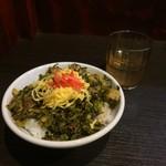 79569205 - ミニチャーシュー高菜丼