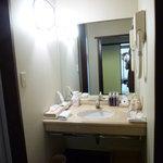 萩の宿 常茂恵 - 客室 パウダールーム