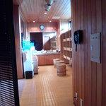 萩の宿 常茂恵 - 大浴場 脱衣所
