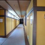 萩の宿 常茂恵 - 二階廊下