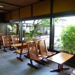萩の宿 常茂恵 - ティーラウンジ