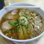 相模 大勝軒 - 【2011.05. 再訪】 ワンタン麺800円+味玉100円