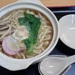 饂飩みやけ - 鶏鍋焼きうどん680円込