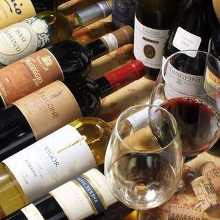 コスパ重視!選りすぐりのイタリア産ワインをご案内