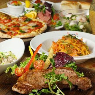 一皿ひと皿にこだわった、オリジナリティ溢れるイタリア料理