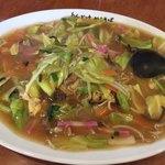 天下ご麺 - 料理写真:あんかけやきそば