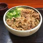 麺処 綿谷 - 牛肉ぶっかけ420円 やっすー