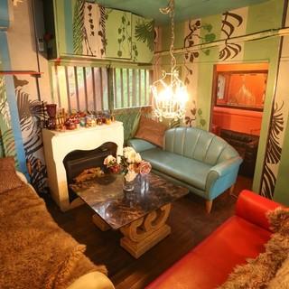 テラス・室内・ソファ・半個室、色んなタイプのお席が選べます!