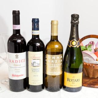 イタリアワインを中心とした分かりやすい説明付きワインリスト