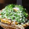 でん - 料理写真:ネギすじキムチ