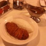 かついちレストラン - チキンカツカレー780円 !!