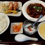 天意 - 料理写真:麻婆茄子定食