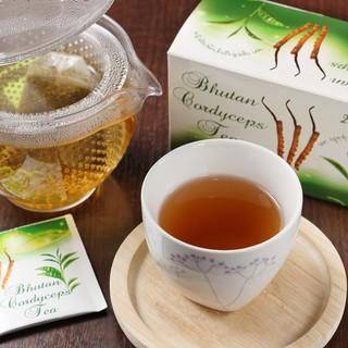 毎日を元気に!ブータン産冬虫夏草のお茶!