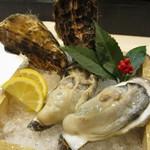 厚岸水産 かき小屋 - 厚岸の生牡蠣