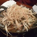 どぜう飯田屋 - どぜう鍋(1,750円)+ごぼう(350円)