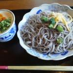 輪楽 - 黒米酵素麺(ざる)