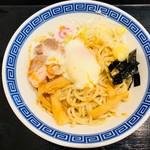 しゃりん - 半熟卵の油そば(590円)