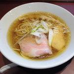 麺童豊香 - 中華そば醤油