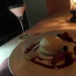 シュール ラ メール - 料理写真:スノーホワイトボールクレームダンジュ カクテルセット
