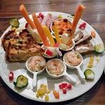 ナチュール - 料理写真:おまかせ前菜盛り合わせ