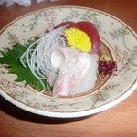 7959052 - 小鉢のお刺身です。