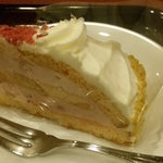 カフェ・ベローチェ - 苺のケーキ280円