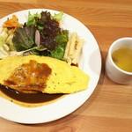 Cafe&Dining zero+ - オムライスプレート