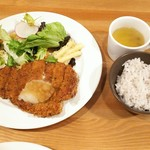 Cafe&Dining zero+ - ミルフィーユカツ(おろしポン酢)