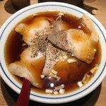 ラーメン凪 - 料理写真:「ふつうの煮干ラーメン」750円