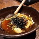 糀と燻 やま武 - 牡蠣の揚げだし✩