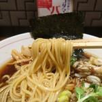 生姜醤油専門 我武者羅 - 中太ストレート麺